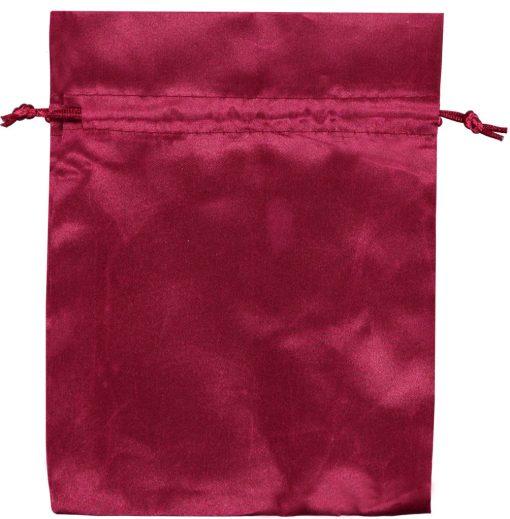 Pochette satin rouge 15x20cm (2)