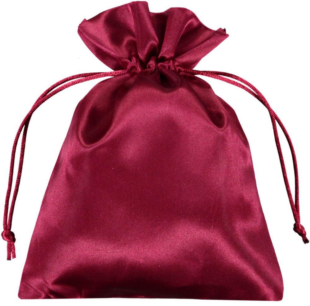 Pochette satin rouge 15x20cm (3)