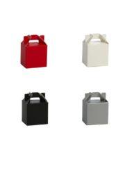 200 pièces Boîte Cadeaux Carton different coleurs et tailles