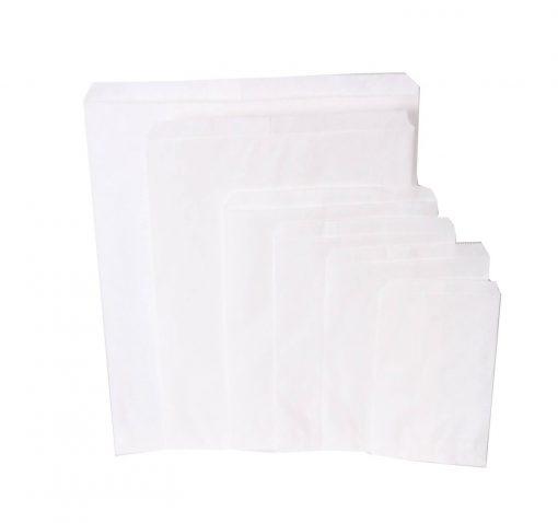 1000pcs sachettes kraft blanc