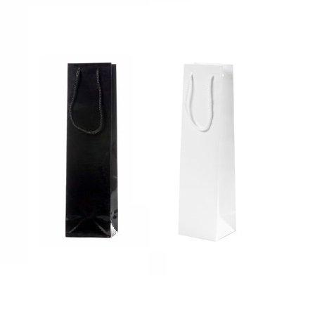 100 pieces Sac de Bouteille de Vin Noir ou Blanc 10x9 x38 cm