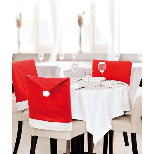 10 pieces Housse de chaise Noël 50x62cm