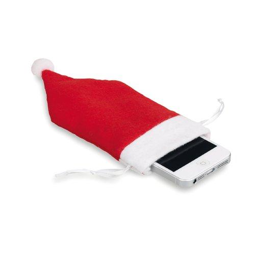100 pieces Pochon de Téléphone Mobile 8x19cm rouge