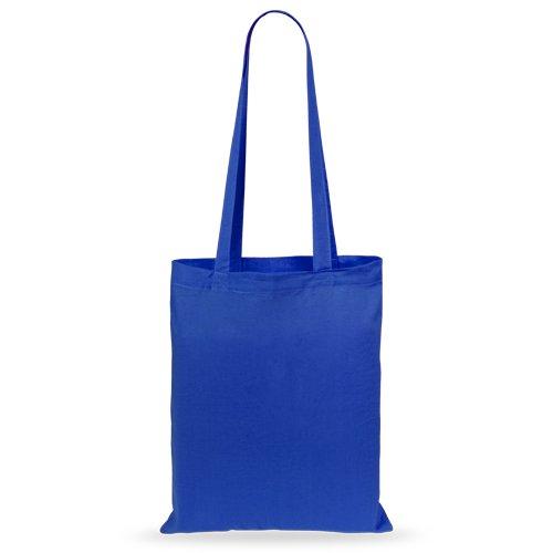 50 pcs Sacs en Coton 36x40cm blue