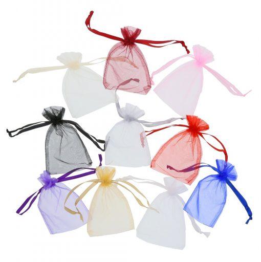 sacs organza 10x15cmcouleurs différentes (3)