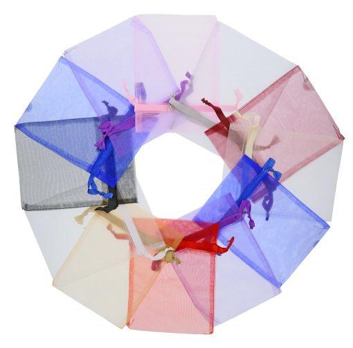 sacs organza15x20cm colours melangees 2.0
