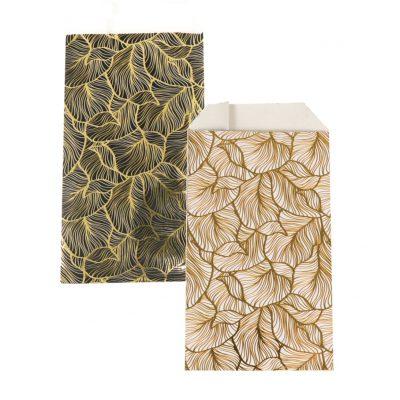 150 Sacs en Papier Feuilles d'Or Choisissez votre Couleur et votre Taille