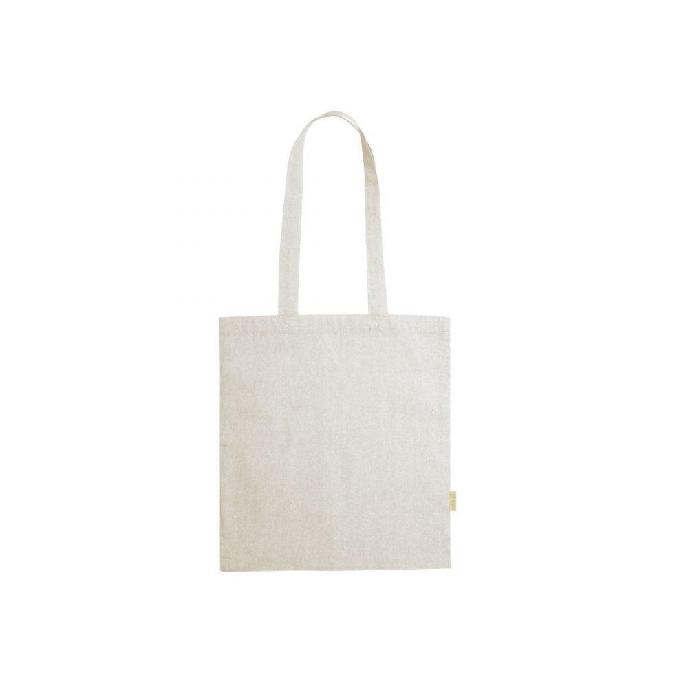 50 pièces Sac à Provisions 100% Coton Recyclé en 4 Couleurs