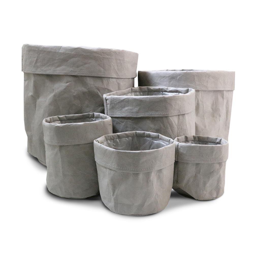 Paper bag Grey complete set